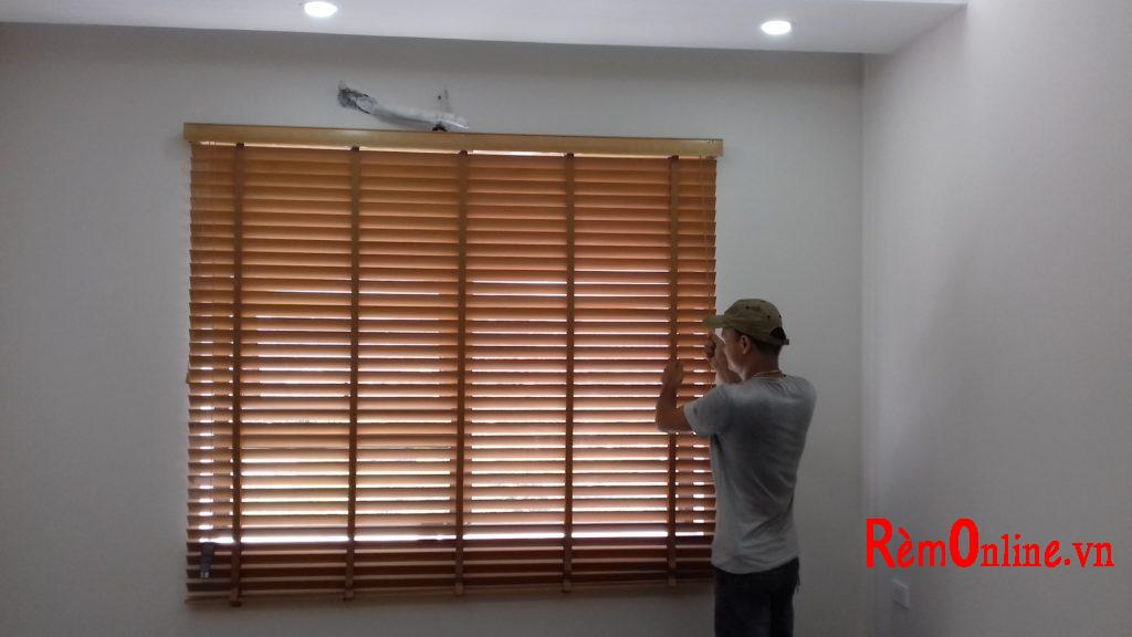 mẫu rèm gỗ tự nhiên, độ bền cực cao không rèm nào sánh nổi