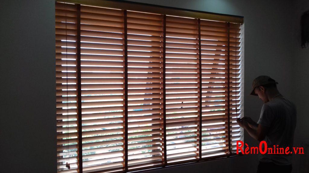 lắp đặt , sửa chữa rèm gỗ tự nhiên, hà nội