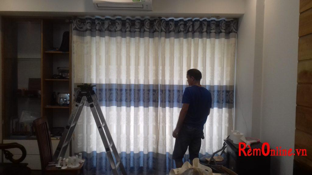 lắp rèm vải huyện gia lâm