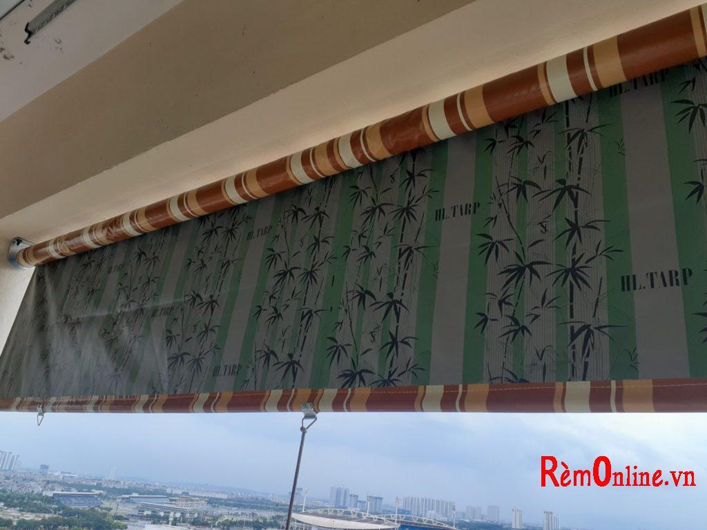 lắp đặt bạt che mưa che nắng ở ban công chung cư
